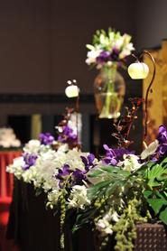 結婚式のお花 (9月 5日)